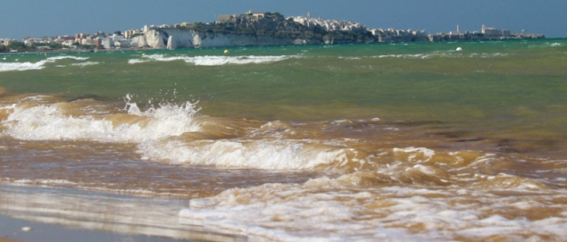 Beach at the National Park of Gargano, Apulia/Italy