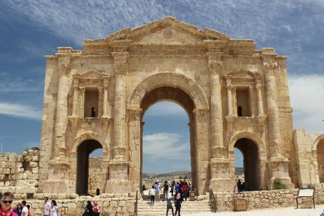 Hercules gate, Gerasa, Jordan