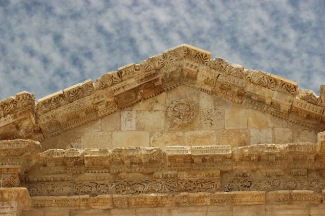 Detail, Hercules gate, Gerasa, Jordan