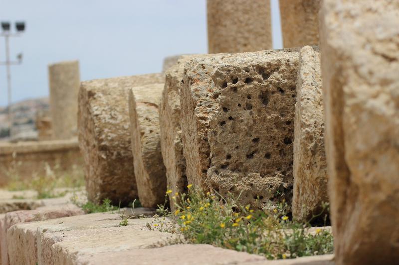 Columns, Gerasa, Jordan