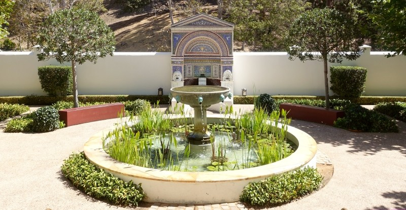 Getty Villa, Los Angeles, California/USA