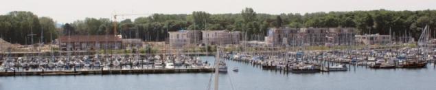 Sailboat Marina of Travemünde, Schleswig-Holstein/Germany