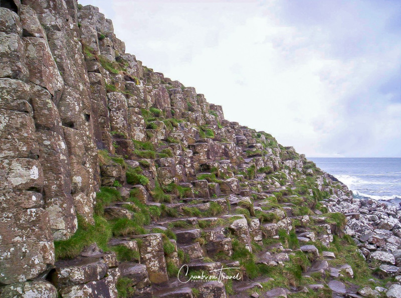 Giants Causeway in Antrim/Northern Ireland