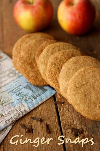 Ginger Snaps – Hamburger Braune Kuchen