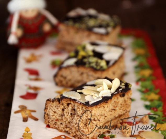Gingerbread, gluten/dairy/sugar-free