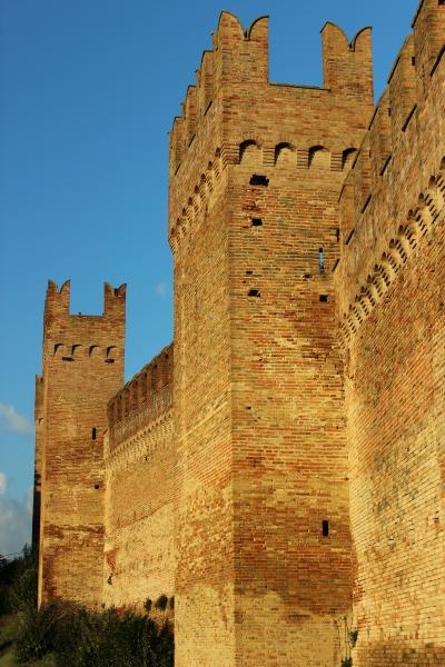 Castle of Gradara, Le Marche, Italy