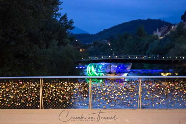 Lights and nightlife of Graz/Austria