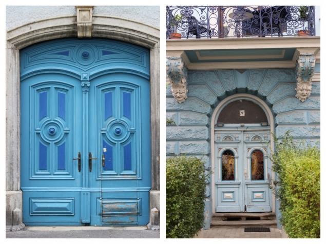 Doors in Graz