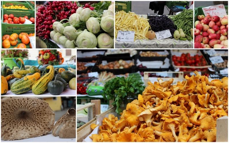 farmers market in Graz,Austria