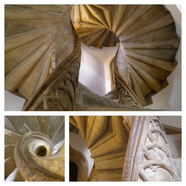 Double spiral case Graz