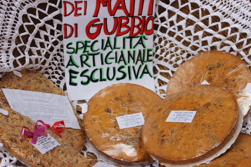 Madmen's cake, Gubbio, Umbria, Italy