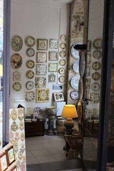 Ceramics at Gubbio, Umbria, Italy