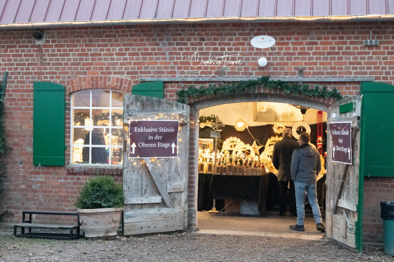 Christmas market at Gut Basthorst