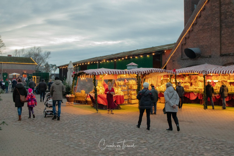Christmas market at Gut Basthorst
