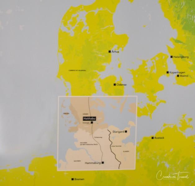 Location of Museum Haithabu - Viking village in Schleswig-Holstein