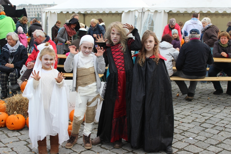 Halloween children, Travemünde, Germany