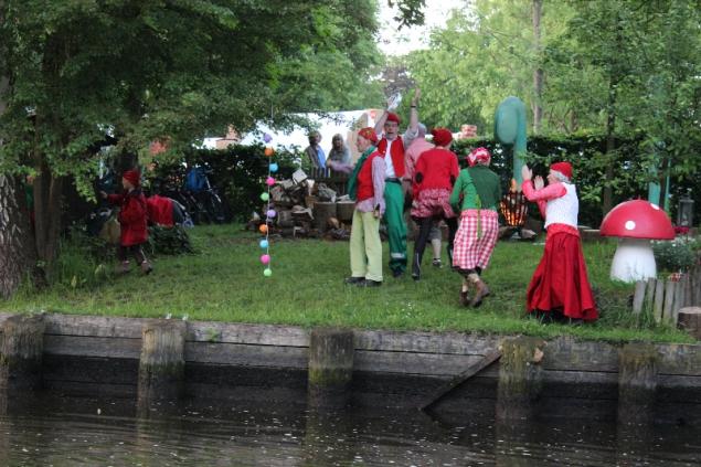 Bilderfluss, Hanseatic days 2014, lubeck, Germany