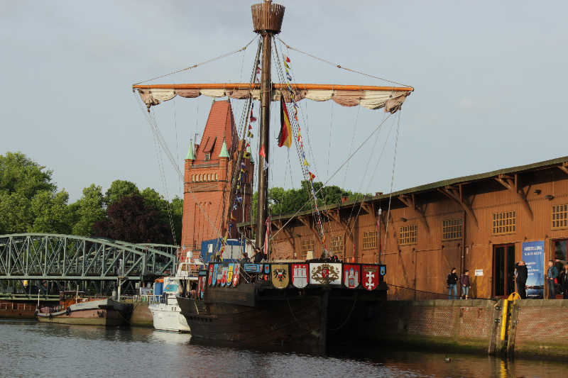 Cog, Hanseatic days 2014, lubeck, Germany