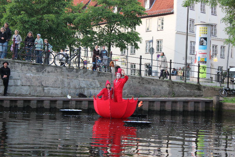 Bilderfluss, Hanseatic days 2014, lubeck, Germany
