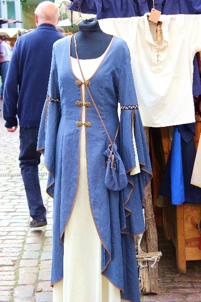 Middle age dress, Hanseatic days 2014, lubeck, Germany