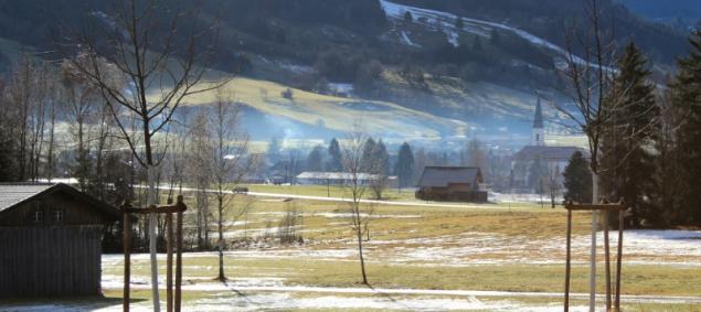 Landscape in the Allgäu, Bavaria, Germany