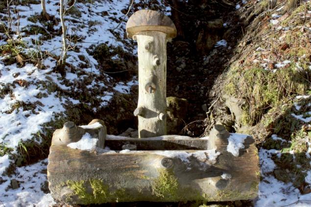 Fontaine in the Allgäu, Bavaria, Germany
