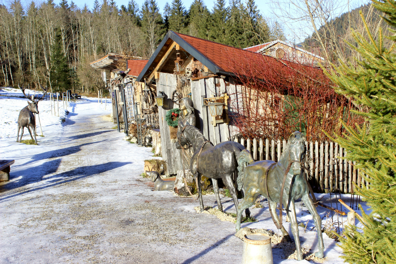 Carriage museum in Hinterstein, Allgäu, Bavaria, Germany