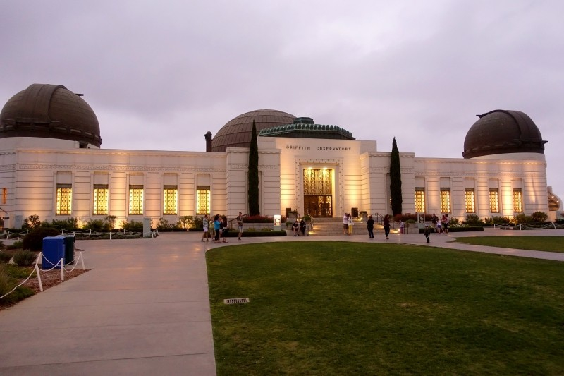 Griffith Observatory, Hollywood, Los Angeles, California/USA