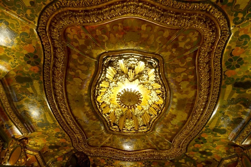 Theater ceiling on Sunset Boulevard, Hollywood, Los Angeles, California/USA