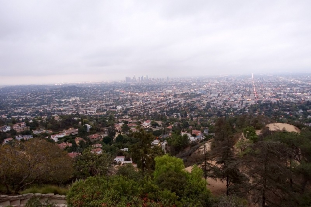 View of Hollywood, Los Angeles, California/USA