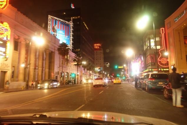 Sunset Boulevard Hollywood, Los Angeles, California/USA