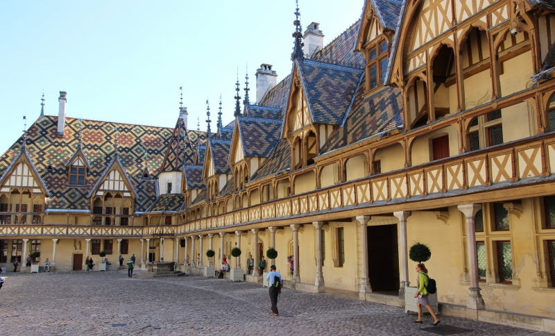 Hospice of Beaune, Burgundy/France