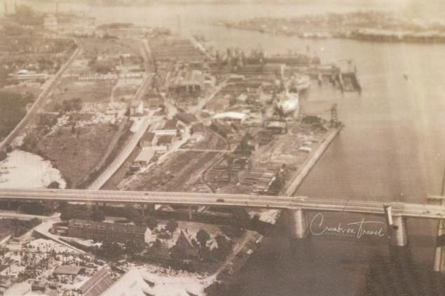 Air view of 1923, Industrial museum Kücknitz