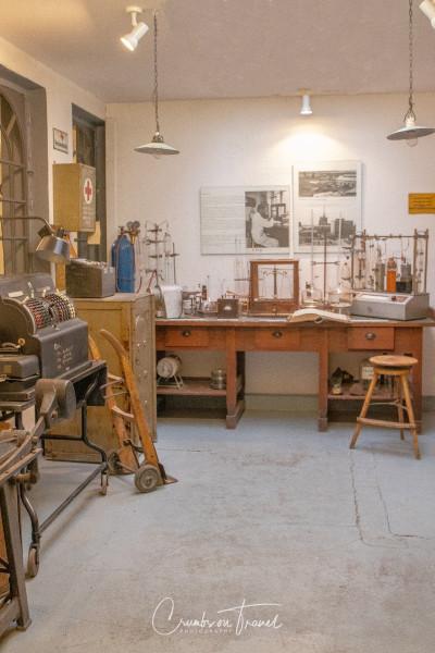 Office, Industrial museum Kücknitz