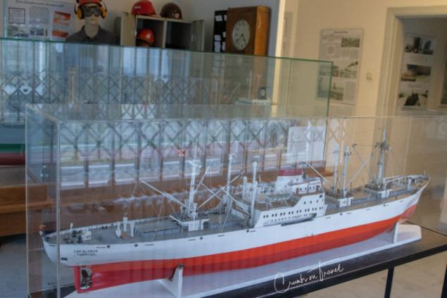 Ship model, Industrial museum Kücknitz