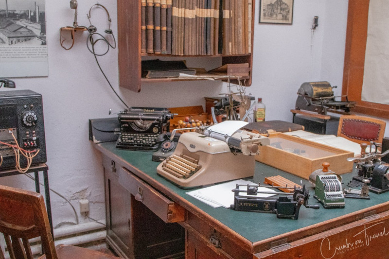 Accountant office, Industrial museum Kücknitz