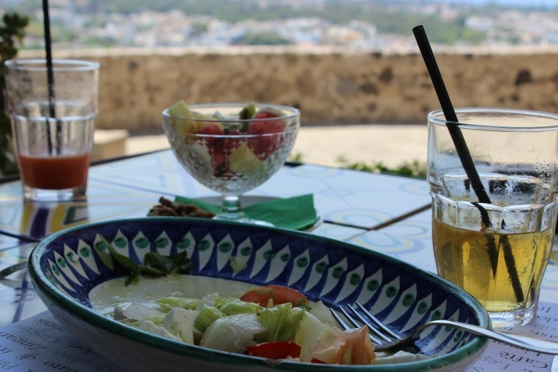 Lunch at the Aragonese Castle of Ischia, Campania/Italy