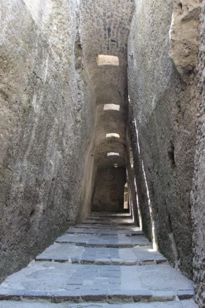 The Aragonese castle of Ischia, Campania/Italy