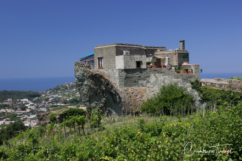 Restaurant 'L'Arca di Noé' on the island Ischia in the Gulf of Naples, Campania/Italy