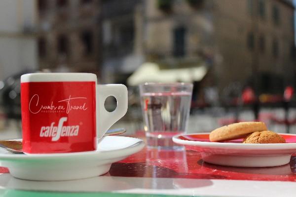 Italian coffee cup in Castiglione al Lago, Tuscany/Italy