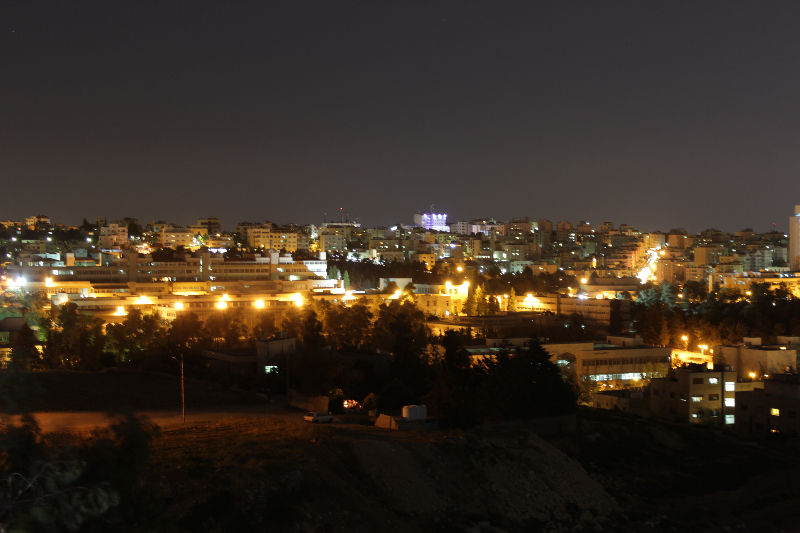 Amman by night, Jordan, Middle East