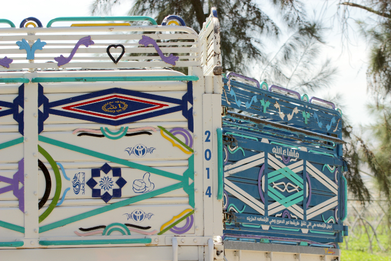 Transportation art in Jordan, Middle East