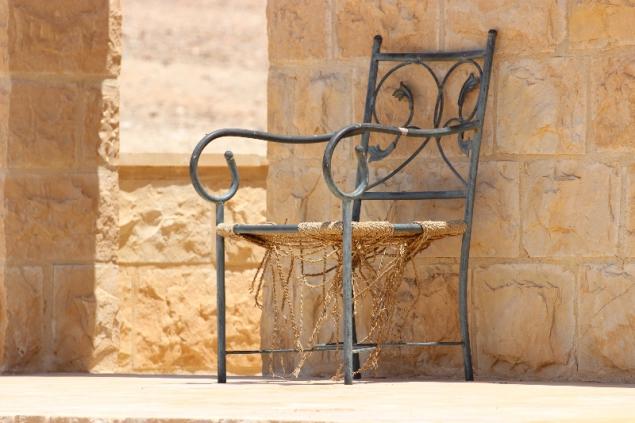 Chair, Qasr Khanara, Jordan