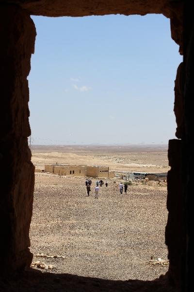 View from Qasr Khanara, Jordan