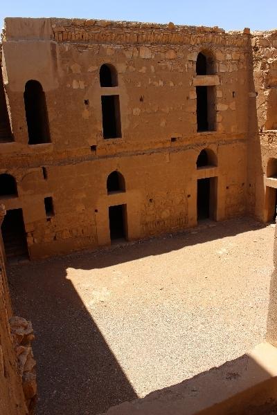 Courtyard, Qasr Khanara, Jordan