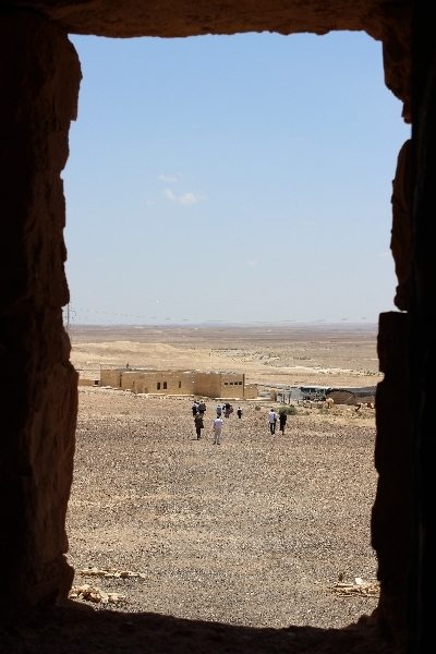 View from Qasr Khanara, Jordan