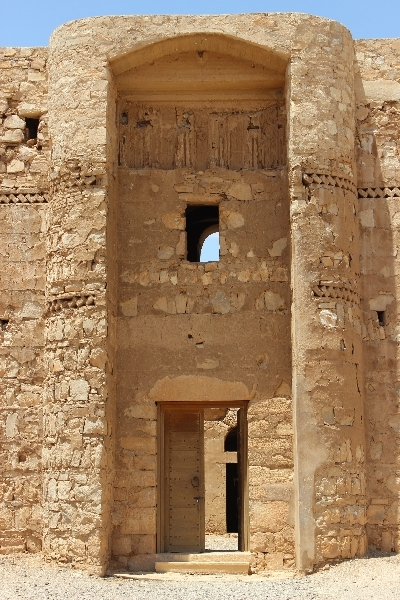 Entrance, Qasr Khanara, Jordan