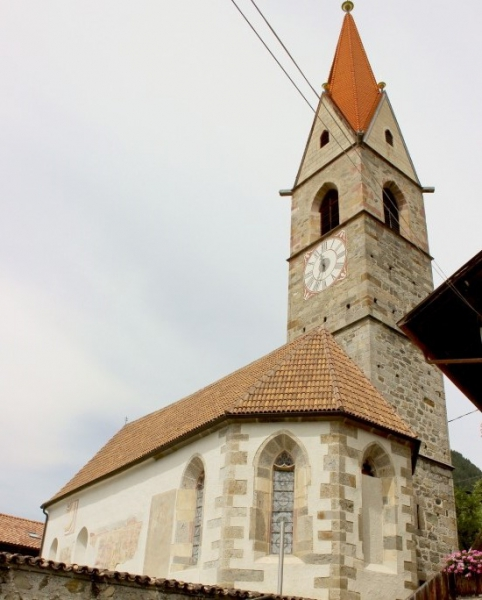 Parish church of Kuens, South-Tyrol/Italy