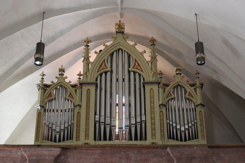 Organ, parish church in Kuens, South-Tyrol/Italy