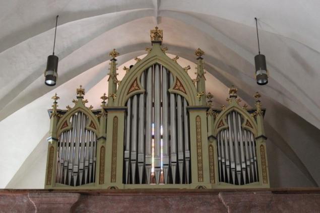 Organ, parish church in Kuens, South-Tyrol/Italy